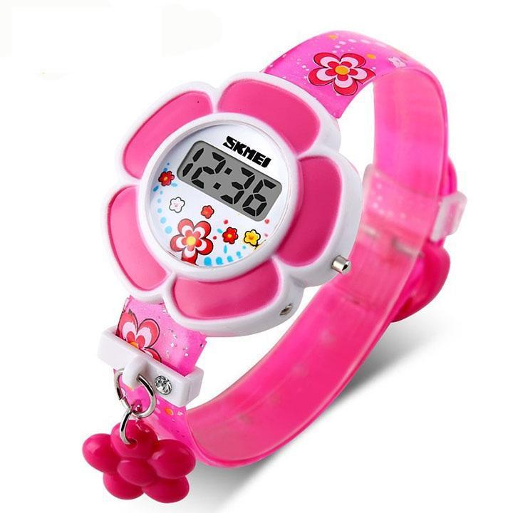 Đồng hồ điện tử cho bé gái Skmei 1144 siêu đáng yêu