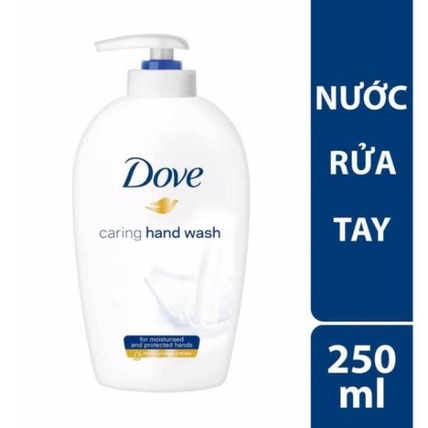 Sữa rửa tay Dove sát khuẩn dưỡng ẩm da tay hương thơm nhẹ dịu tự nhiên 250ml