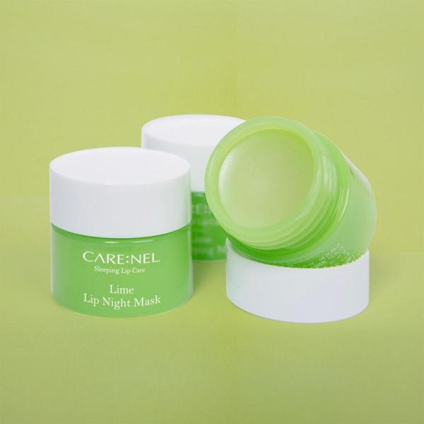 Mặt Nạ Ngủ Môi Dưỡng Ẩm Và Tẩy Tế Bào Chết Hương Chanh – Carenel Lime Lip Sleeping Mask by Nacos.vn