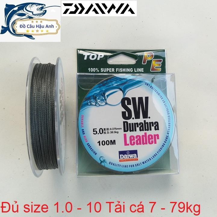 Mã Giảm Giá Dù Câu Cá Daiwa Leader SW 100m Siêu Bền (Siêu Rẻ)