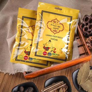 Combo 20 Miếng dán thải độc chân Lanna foot patch thái lan - Miếng dán thải độc chân Chùa Vàng Gold Princess Thái Lan thumbnail