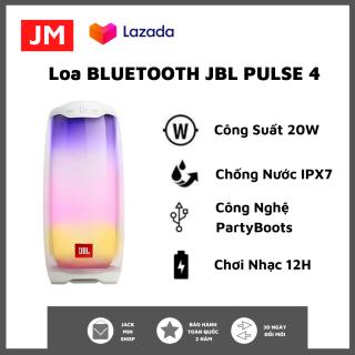 Loa Bluetooth JBL Pulse 4 - Loa Nghe Nhạc Công Suất Cực Lớn 20W - Âm Thanh Phát Sáng 360 - Loa Karaoke Âm Bass Mạnh Mẽ, Treble Rời - Chơi Nhạc 12H - Chống Nước IPX7 - Party Boots 100 Loa - Tương Thích Điện Thoại, Máy Tính thumbnail