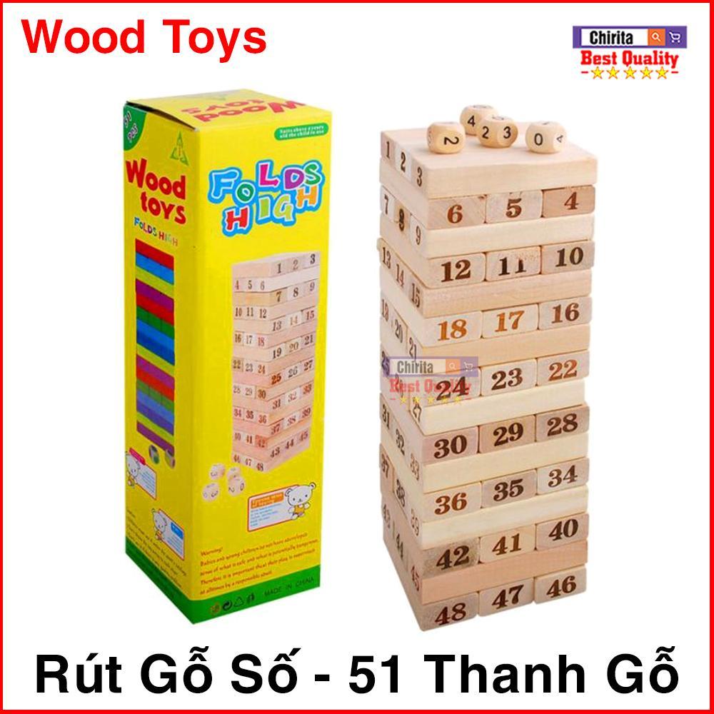 Lazada Khuyến Mãi Khi Mua Đồ Chơi Rút Gỗ Wood Toys 51 Thanh Gỗ - 4 Viên Xúc Xắc - Rút Gỗ Mang Tính Giải Trí Rèn Luyện Trí Tuệ ( Loại Lớn )