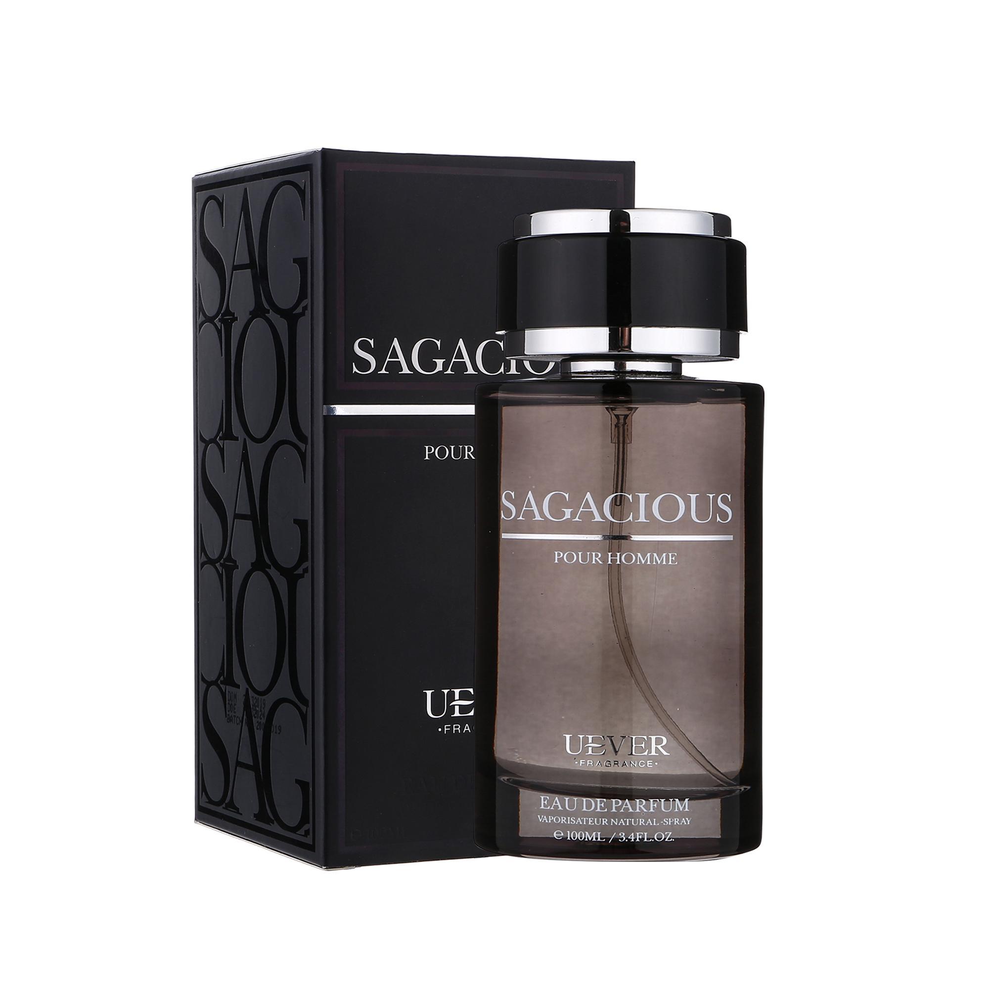 Nước hoa nam cao cấp SAGA Cologne thương hiệu Pháp UEVER 100ml lưu hương 10 tiếng nhập khẩu