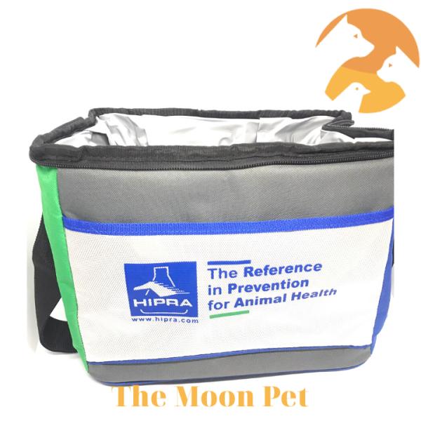 Túi giữ nhiệt bảo quản vacxin cao cấp có quay đeo [30x22x18cm]