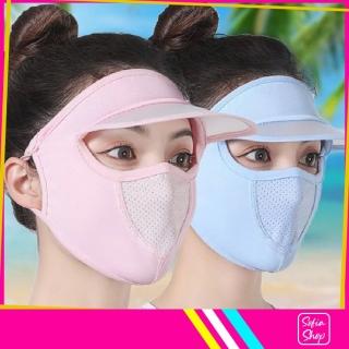 Khẩu Trang Ninja Nin Ja Nam Nữ Che Kín Mặt Có Mũ Chống Nắng Bụi Tia UV MUKK29 - Khau Trang Ninja Nin Ja Nam Nu Che Kin Mat Co Mu Chong Bui Nang Tia UV - ShopSofia thumbnail