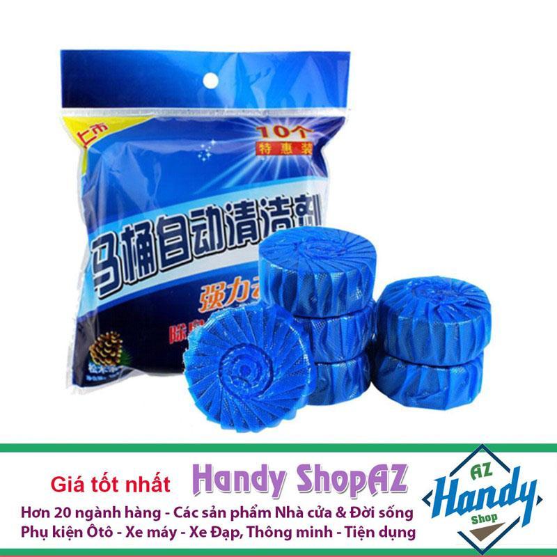 Combo 10 Viên Khử Mùi Tẩy Bồn Cầu Thế Hệ Mới 2x By Handy Shopaz.