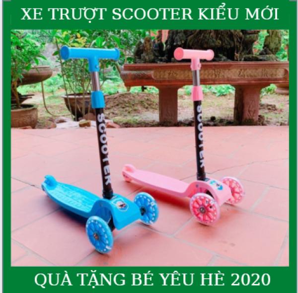 Giá bán Xe trượt 3 bánh cho bé - Xe trượt scooter SC-21ST - Xe giữ thăng bằng thông minh - Mẫu mới nhất mùa Hè - Chất liệu nhựa cao cấp - Phù hợp cho các bé từ 3-6 tuổi - Giúp bé tập phản ứng tốt - Linh hoạt.