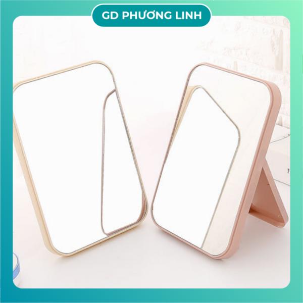 Gương Để Bàn Mini Trang Trí Nhà Cửa Gương Soi Để Bàn giá rẻ