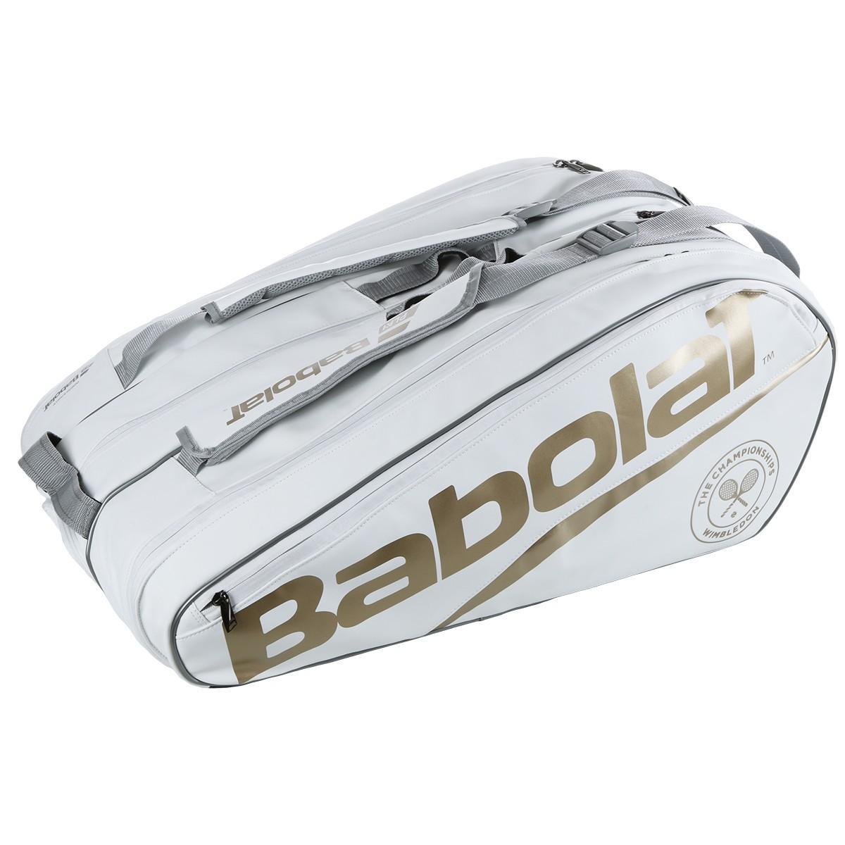 Bảng giá Túi đựng vợt Babolat Pure Wimbledon 12 Pack Tennsi Pag cao cấp chuyên nghiệp
