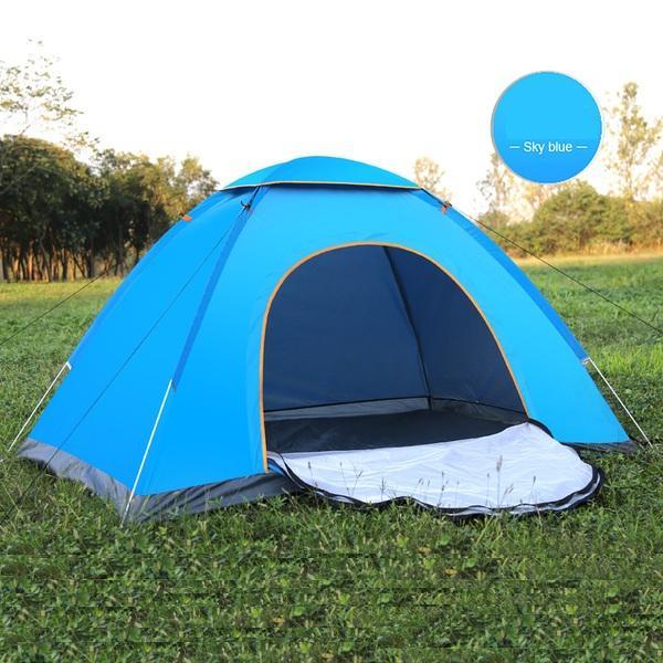 Lều du lịch, cắm trại, phượt 2 lớp chống muỗi và côn trùng, leu du lich, cam trai, phuot 2 lop chong muoi va con trung