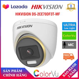 [CAMERA Màu 24 7] Camera 4 in 1 2.0 Megapixel HIKVISION DS-2CE70DF3T-MF - Chính Hãng - Camera Số 1 thumbnail