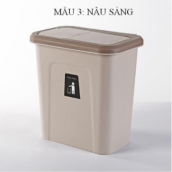 thùng rác treo kệ bếp kiểu dáng chất liệu thẩm mỹ hiện đại
