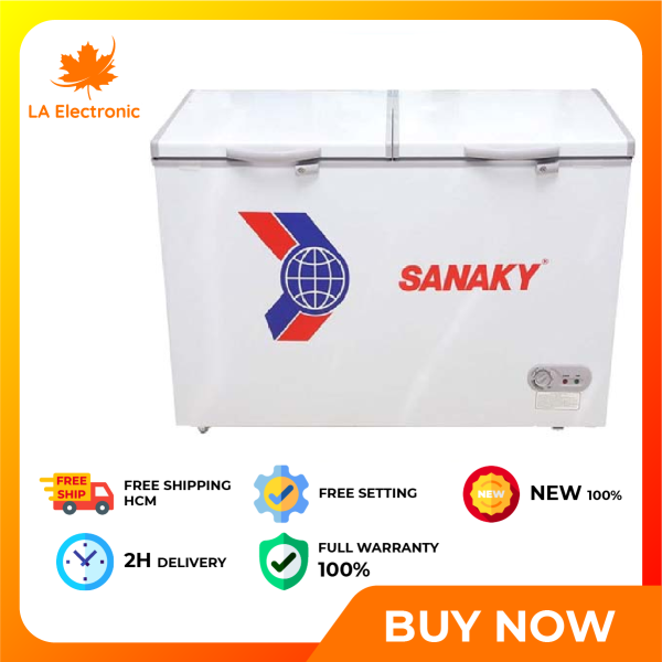 Trả Góp 0% - Tủ đông Sanaky 270 lít VH-365A2 - Miễn phí vận chuyển HCM