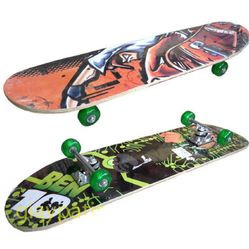 Giá bán Ván trượt skate board loại lớn - tiêu chuẩn thi đấu ĐỒ TẬP TỐT