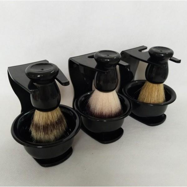 Bộ dụng cụ quét kem cạo râu Barber
