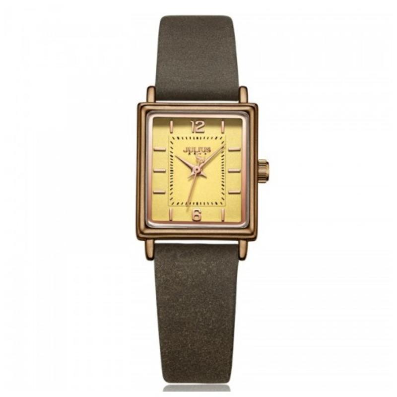 Đồng hồ nữ Julius JA-1071E (Nâu)