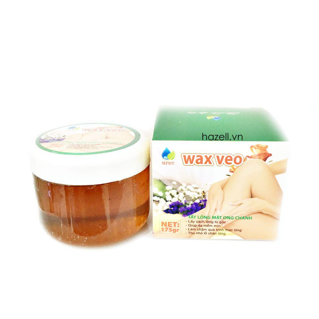 [ tặng que và giấy] wax veo tinh chất mật ong có thể dễ dàng wax tại nhà nhập khẩu