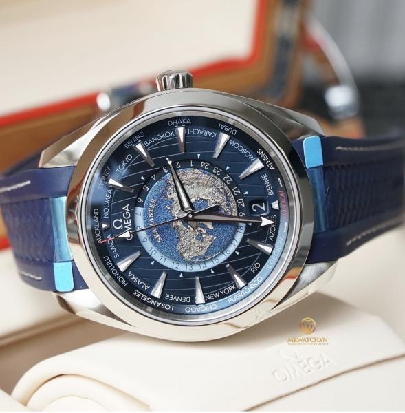 đồng hồ nam OM Seamaster dây caosu thời trang bán chạy