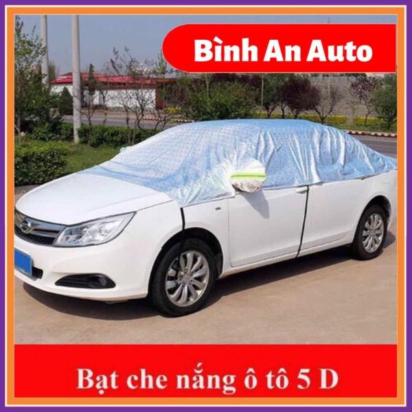 Bạt phủ nửa xe ô tô - Bạt che nóc xe hơi chống nóng, chống xước, chống mưa, cho các dòng xe - Bình An Auto