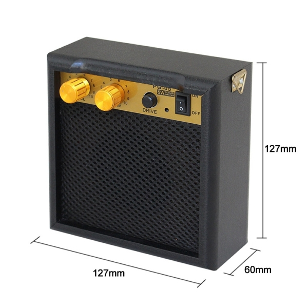 PG-05 5W Mini Guitar Amplifier Guitar Amp Guitar Accessories for Acoustic Electric Guitar
