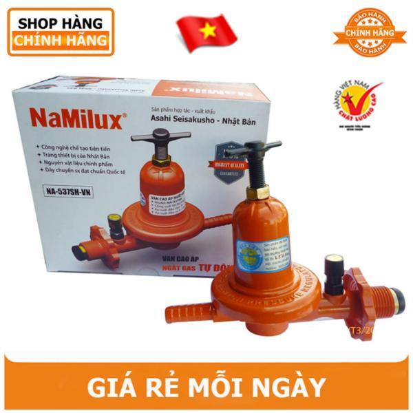 Van gas cao áp tự động NAMILUX NA-537SH tặng khăn tay lau nhà bếp