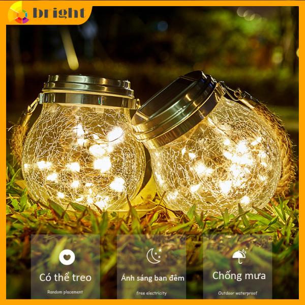 Bảng giá Năng lượng mặt trời đèn led ngoài trời ngoài không thấm nước sử dụng trang trí sân vườn, ban công, nhà hàng, khách sạn, khu nghỉ dưỡng, giáng sinh Decorative Solar Powered Bulbs Waterproof for Outdoor Decorations