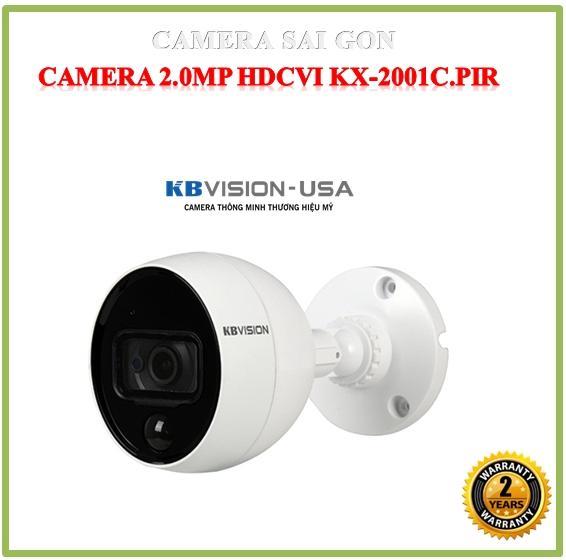 Camera HDCVI 2MP KBVISION KX-2001C.PIR