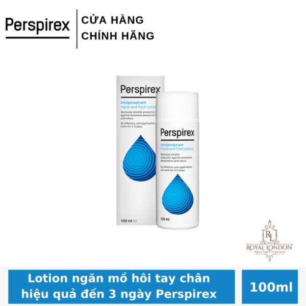 Lotion ngăn mồ hôi tay chân hiệu quả đến 3 ngày Perspirex Foot Lotion 100ml cao cấp