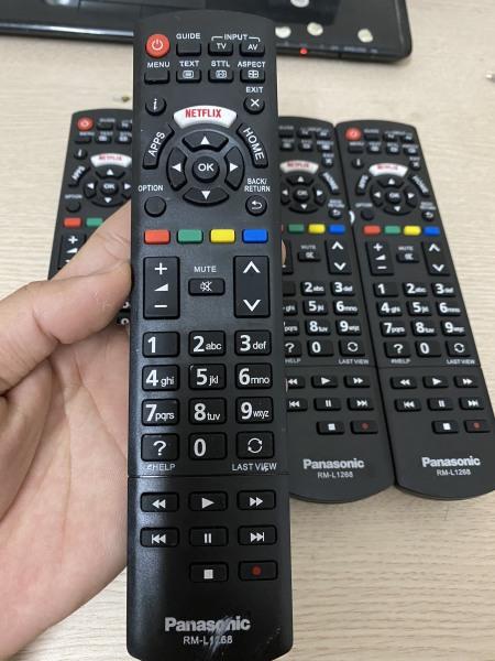 Bảng giá Điều khiển các loại smart tivi, LCD tivi Panasonic (RM-L1268)