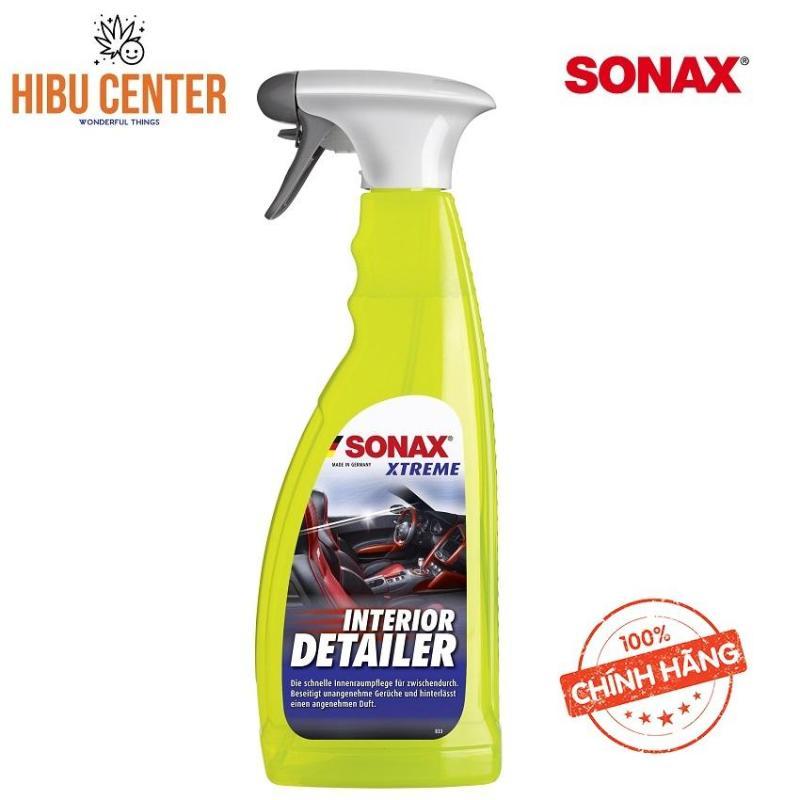 Dung dịch vệ sinh nội thất xe ôtô Sonax Xtreme Interior Detailer 750ml 220400.