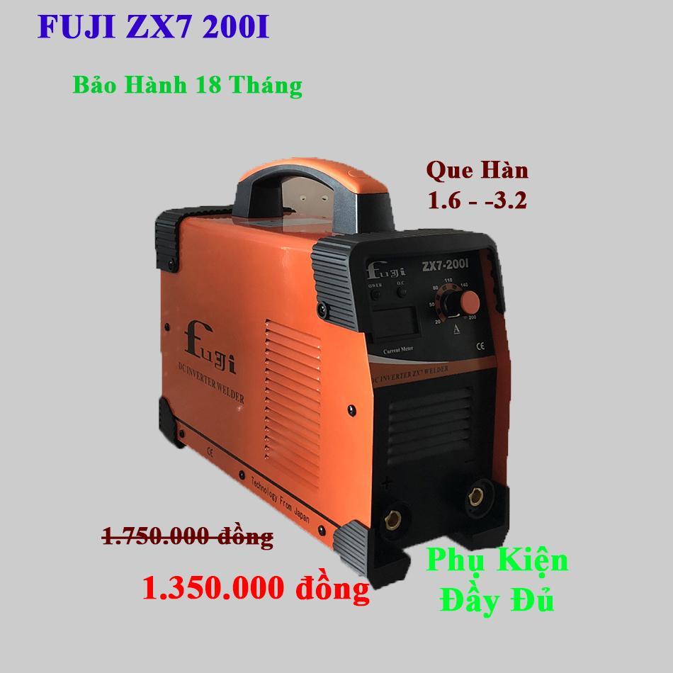 Máy Hàn Que Điện Tử FUJI ZX7 200I (Cam)