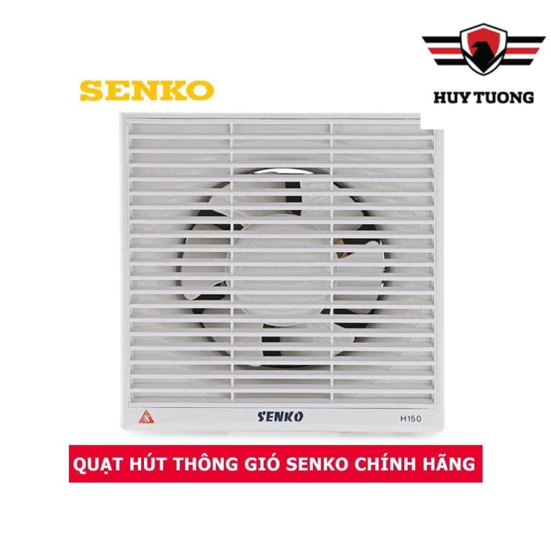Quạt hút thông gió 2 chiều âm tường Senko H150 30W cao cấp - Huy Tưởng