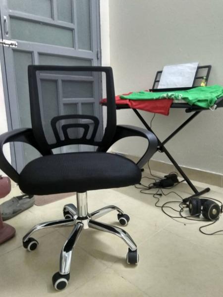 (ẢNH THẬT & VIDEO)BG Ghế lưới chân xoay văn phòng - Mẫu B SIÊU RẺ SIÊU TIÊT KIỆM giá rẻ