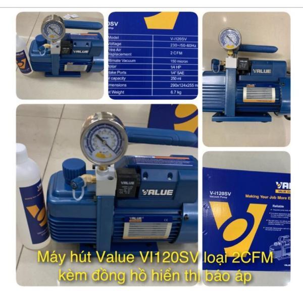 Máy hút chân không Value 2.0C VI120SV ( kèm đồng hồ hiển thị )