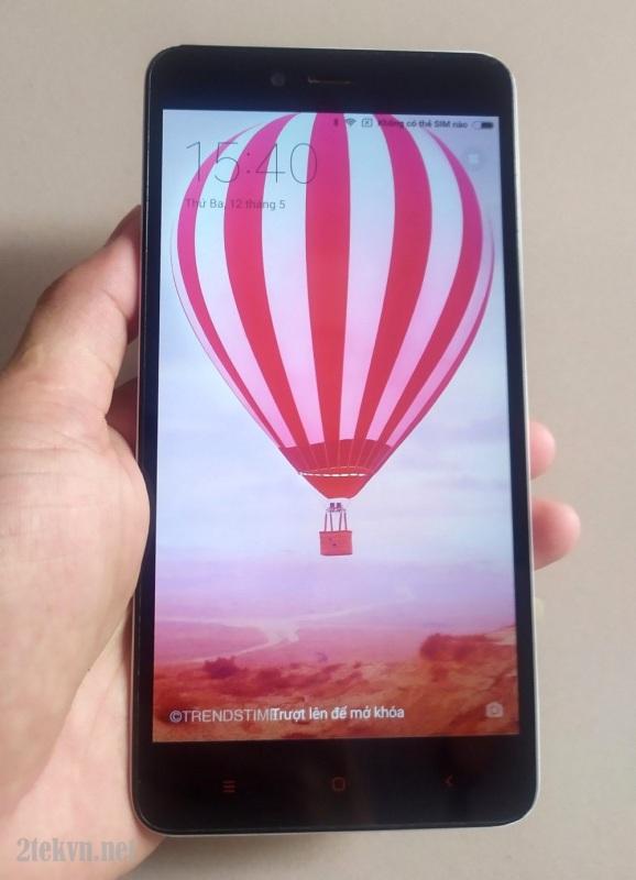 Điện thoại 2 sim cảm ứng xiaomi NOT 2 16 GB ROM - 2GB RAM pin khủng cho người già