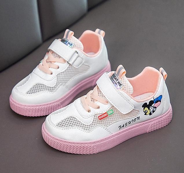 Giày thể thao bé gái in hình Micky size 27 - 37 TT028 giá rẻ