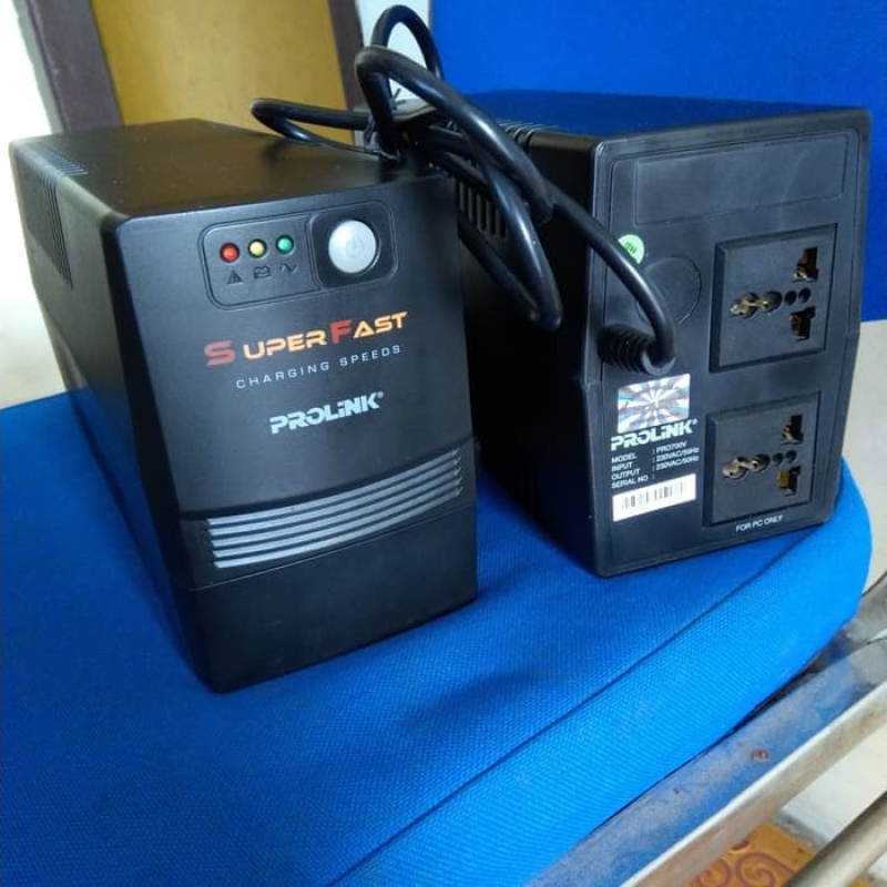 Bảng giá Bộ Lưu Điện Prolink PRO700SFC 650VA 455W - Like New - Có Ắc Quy Phong Vũ