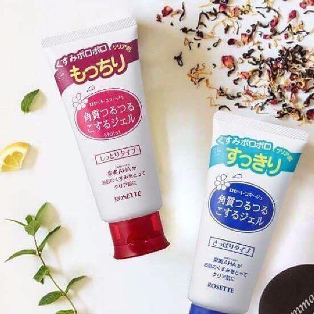 Gel tẩy tế bào chết Rosette-TOP 1 Nhật bản