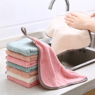 Khăn lau tay nhà bếp một màu siêu thấm nước thumbnail