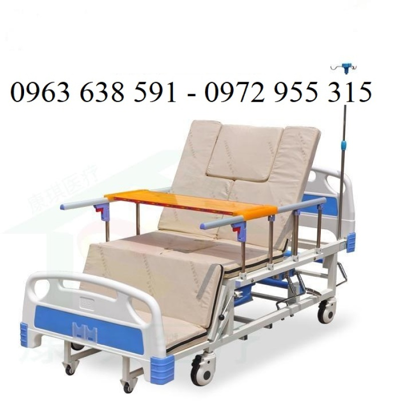 Giường Y Tế Đa Năng - Giường Bệnh Cao Cấp Đa Tính Năng - Giường Hạ Chân Ngoài