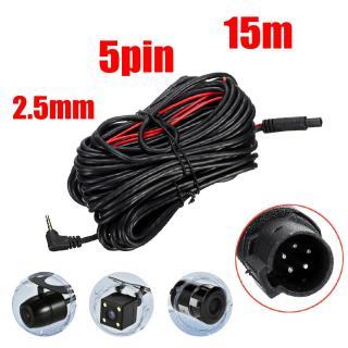Dây 15m kết nối camera hành trình và camera lùi, jack 2.5mm, 5 chân dùng cho xe tải, xe khách -lakado thumbnail