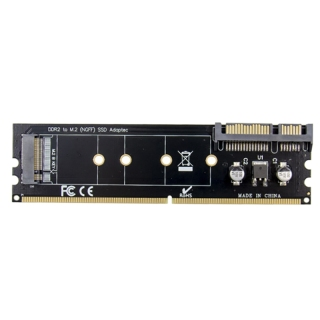 DDR2 Memory Slot M.2 SSD to SATA Expansion Board DDR2 to M.2 NGFF SSD Adapter for PC Laptop thumbnail