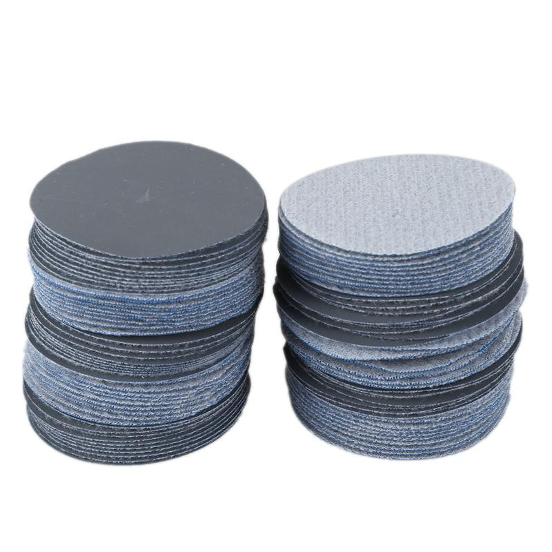 100Pcs 2 Inch 3000 Grit Grinding Abrasive Sanding Sandpaper Disc for Wood Furniture Finishing Sanding and Mirror Jewelry Car Polishing