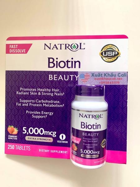 Natrol  Biotin 5000 mcg 250 viên