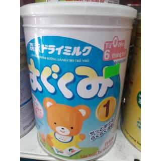 Sữa Morinaga Hagukumil số 1 hộp 850g (nhập khẩu chính hãng) thumbnail
