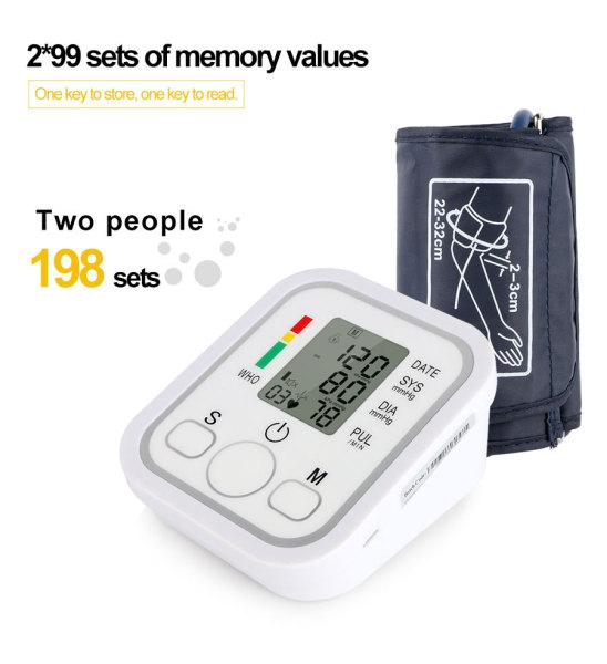 Nơi bán Máy đo huyết áp Nhật Bản - Máy đo huyết áp điện tử giá cực tốt - Máy Đo Huyết Áp Đo Nhịp Tim, Huyết Áp Chính Xác Tuyệt Đối Dành Cho Mọi Người