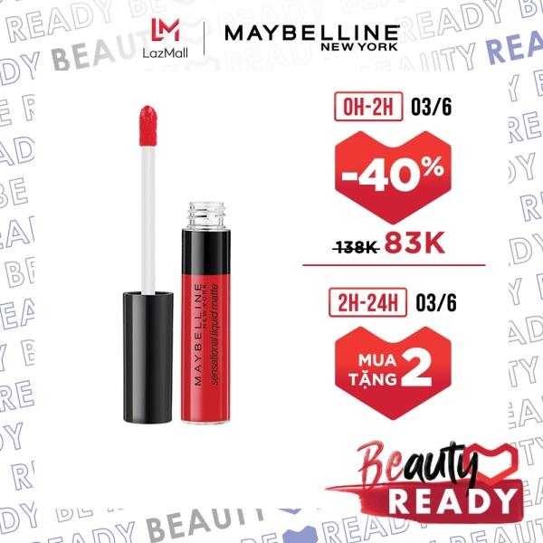Son Kem Lì Nhẹ Môi Maybelline New York Sensational Liquid Matte Lipstick 7ml giá rẻ