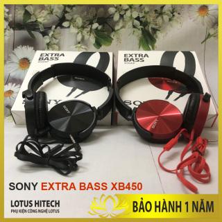 [CHUẨN SONY] Tai Nghe SONY EXTRA BASS, tai nghe chụp tai Sony XB450 chuẩn âm bass, nghe cực đã, màu sắc trẻ chung, khuyến mại sâu Lotus Hitech thumbnail