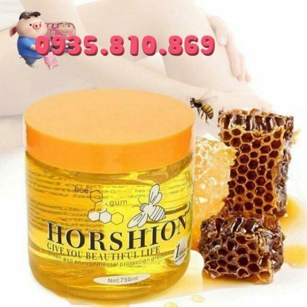 [ Giá Sỉ ] Keo Wax Lạnh Tẩy Lông Horshion Mật Ong 750ml, Gel Horshion Body Hair Removal, hàng chính hãng